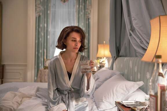 "This image released by Fox Searchlight shows Natalie Portman as Jackie Kennedy in a scene from the film, ""Jackie."" On Wednesday, Dec. 14, 2016, Portman was nominated for a Screen Actors Guild award for outstanding performance by a female actor in a leading role for her role in the film. (Stephanie Branchu/Fox Searchlight via AP)"