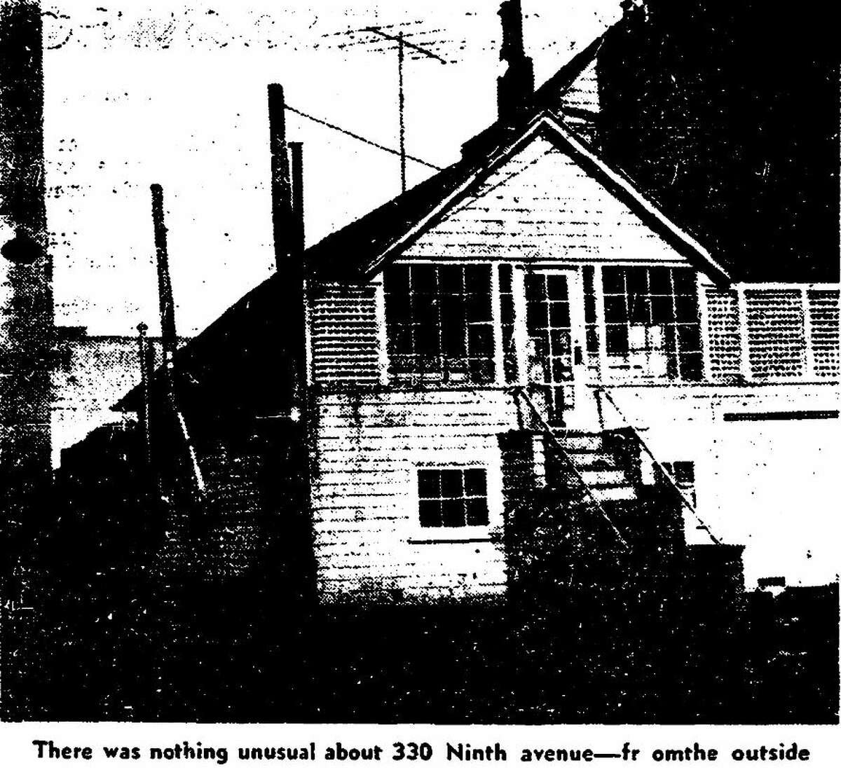 """The house that used to sit at 330 Ninth Avenue in San Francisco's Richmond District used to be made out of old horse drawn streetcars, including """"Old 69."""" After the owners died, the city condemned the property and cleared it for Clement Street shoppers parking lot."""