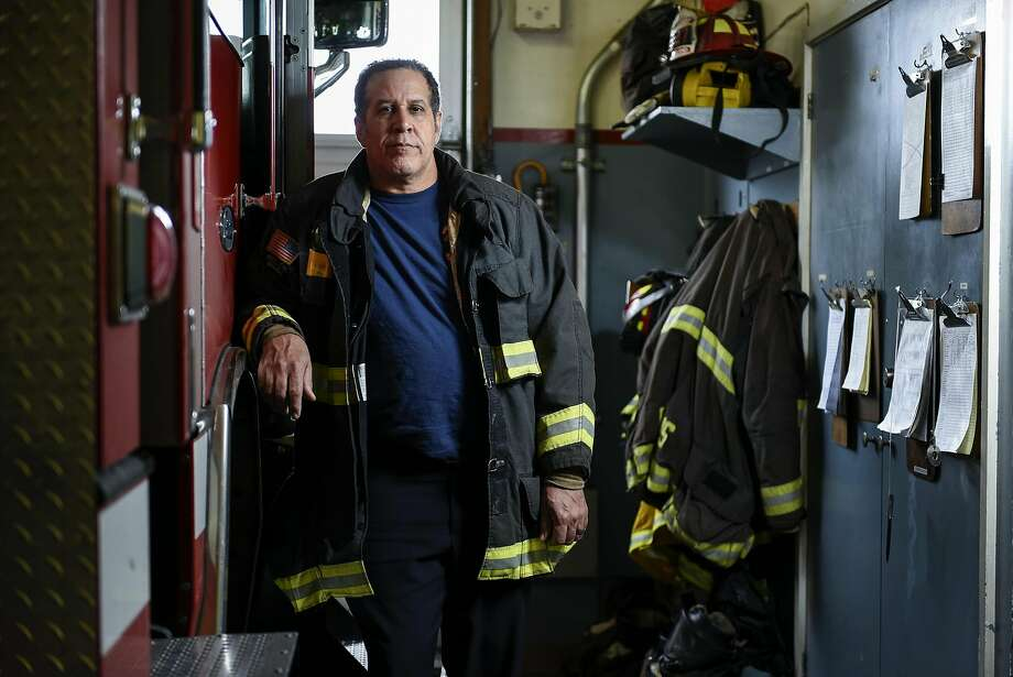 Lt. Dan Robertson, president of the Oakland fire unions, poses for a portrait at Oakland Fire Department station house number 27 in Oakland, CA, on Wednesday, December 14, 2016. Photo: Michael Short, Special To The Chronicle
