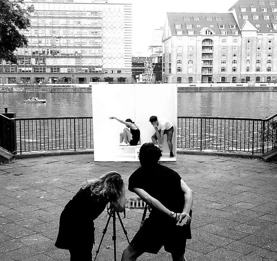 The Portable Studio at the Berlin River. Photo: Courtesy Alex Nichols