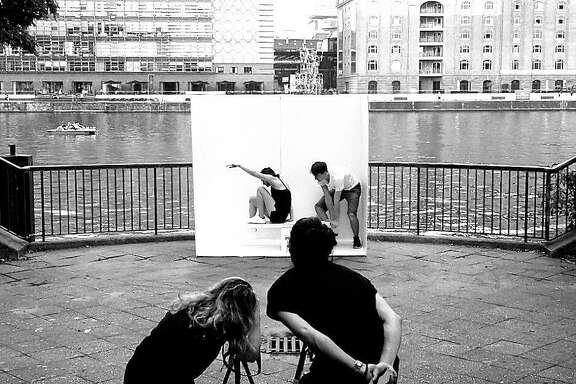 Portable Studio at the Berlin River