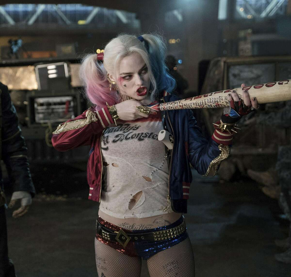 """-- PHOTO MOVED IN ADVANCE AND NOT FOR USE - ONLINE OR IN PRINT - BEFORE AUG. 7, 2016. -- In an undated handout photo, Margot Robbie as Harley Quinn in the film """"Suicide Squad."""" This year, the Harley Quinn character headlines three books, including a self-titled monthly comic, two six-issue mini-series and the new Warner Bros. film """"Suicide Squad."""" (Clay Enos/Warner Bros. and DC Comics via The New York Times) -- NO SALES; FOR EDITORIAL USE ONLY WITH HARLEY QUINN ADV07 BY ROBERT ITO FOR AUG. 7, 2016. ALL OTHER USE PROHIBITED."""