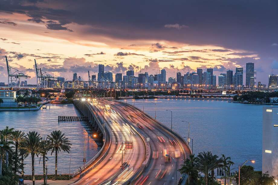 Cities with the sunniest winters:10. Miami Photo: Lost Horizon Images, Getty Images