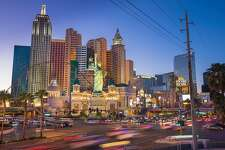 United States, Nevada, Las Vegas, the Strip, New York New York Hotel and Casino