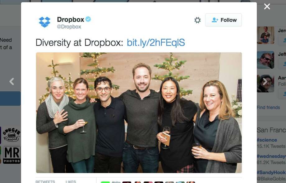 Twitter/DropboxClick through this slideshow to see which jobs in the tech industry have the biggest gender pay gaps.