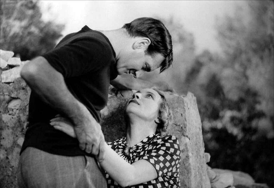"Marius (Pierre Fresnay) and Fanny (Orane Demazis) in ""César"" (1936). Photo: BAMPFA, Janus Films 1936"