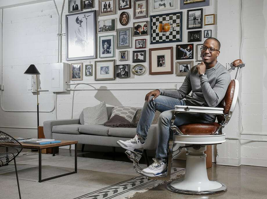 Tristan Walker, founder and CEO of Walker and Company, pose for a photo at the company headquarters in Palo Alto, Calif., Wednesday, Dec. 14, 2016. The health and beauty company currently offers a shaving line geared toward people of color. Photo: Tony Avelar, Special To The Chronicle