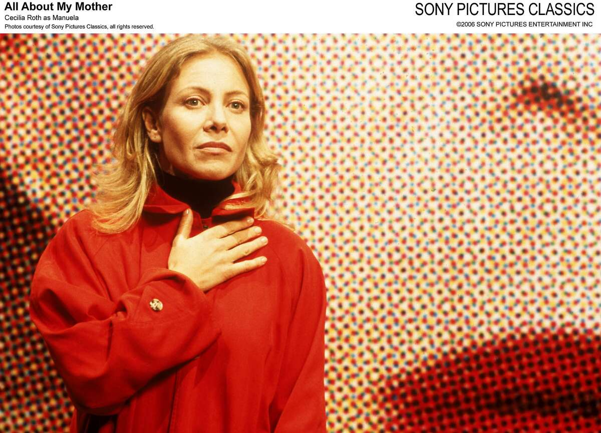 ALL ABOUT MY MOTHER -- CECILIA ROTH AS MANUELA. SONY PICTURES CLASSICS.