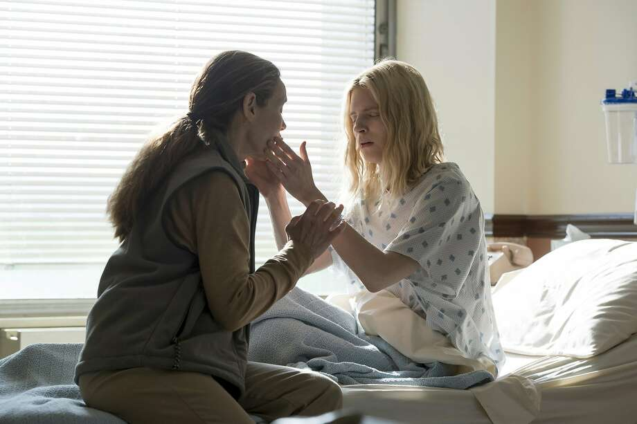 "Alice Krige (left) and Brit Marling in ""The OA."" Photo: JoJo Whilden/Netflix"