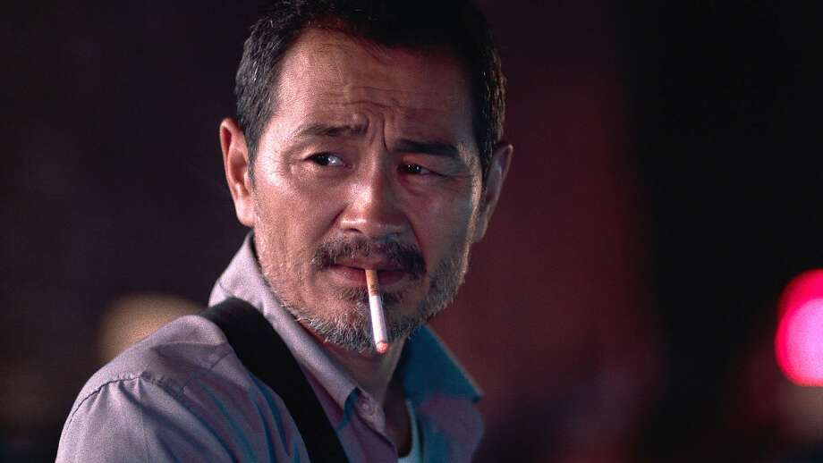 """Chen Gang as taxi driver Lao Shi in the movie """"Old Stone"""" created by Johnny Ma. (Zeitgeist Films/TNS) Photo: Zeitgeist Films, TNS"""