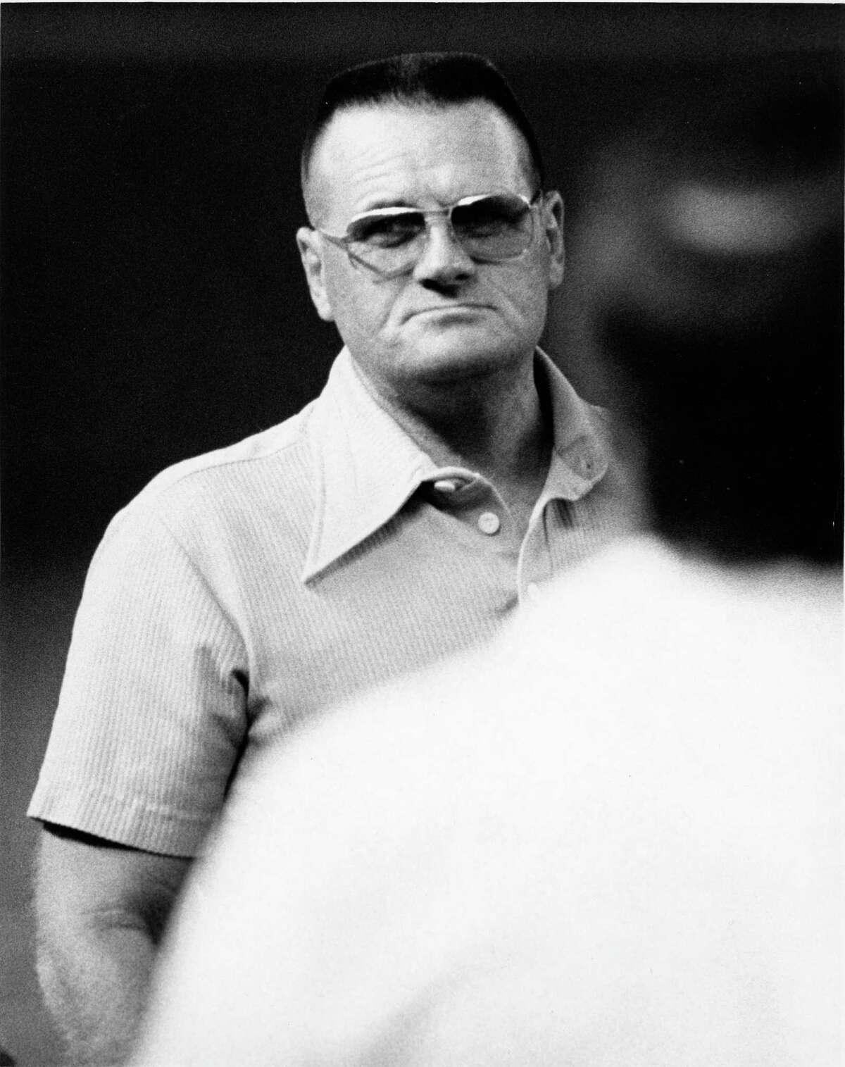 "08/15/1975 - Houston Oilers head coach O.A. ""Bum"" Phillips"