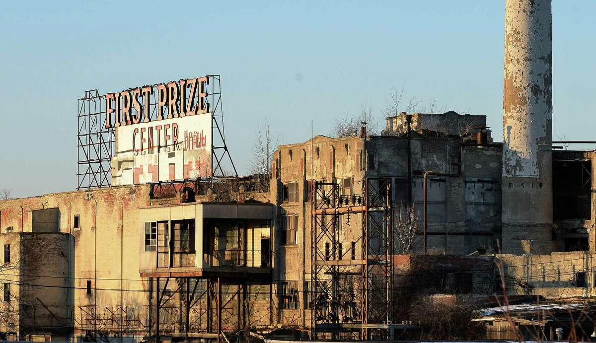 The former Tobin First Prize plant Wednesday Dec. 14, 2016 in Albany, NY. (John Carl D'Annibale / Times Union)