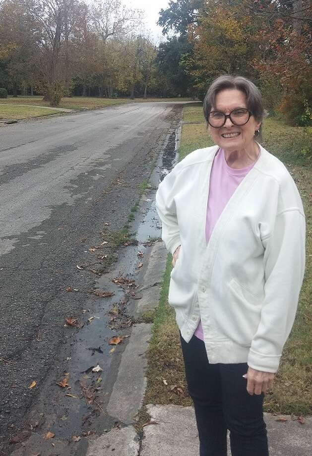 Joedna Smyth, a resident of the Cherokee Lane subdivision, is one of the residents who will benefit from new culverts in the area. Photo: Dan Wallach