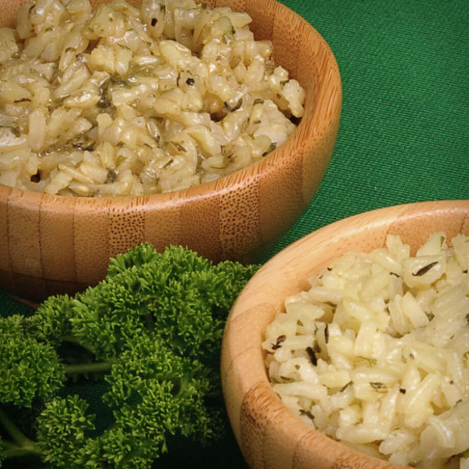 Rice made with Frawley's Herbs for Rice