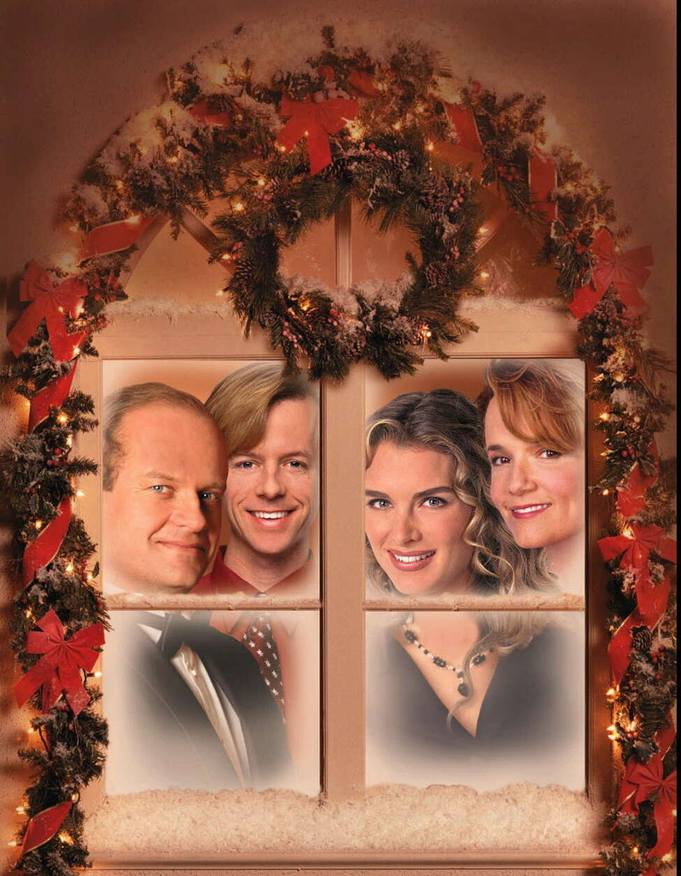 """Click through the slideshow to see how some popular 1990s shows marked the holidays . Must-See TV stars from 1997 – Kelsey Grammer, David Spade, Brooke Shields, Lea Thompson appear in special Christmas episodes of """"Frasier"""" (Grammer), """"Just Shoot Me"""" (Spade), """"Caroline in the City"""" (Thompson) and """"Suddenly Susan"""" (Shields)."""