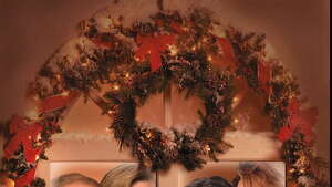 NBC11211/18/97 CHRISTMAS -- NEW SERIES HOLIDAY ART -- THE ROOM'S AGLOW WITH SHINING STARS -- PICTURED: (l-r) Kelsey Grammer, David Spade, Brooke Shields, Lea Thompson -- NBC warms your hearts with jolly good laughter this holiday season with Must-See TV favorites.  Trim your tree, hang your stockings with care and tune in to special Christmas episodes of 'Frasier' (Grammer), 'Just Shoot Me' (Spade), and 'Caroline in the City' (Thompson) this December. -- NBC