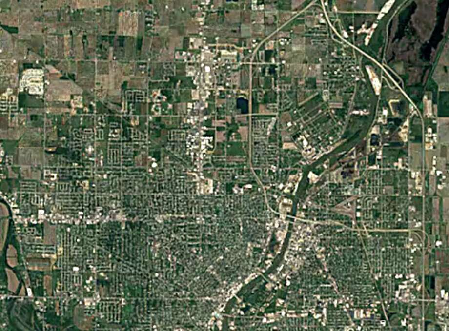 Saginaw 1984 Photo: Photo: Google Earth Timelapse
