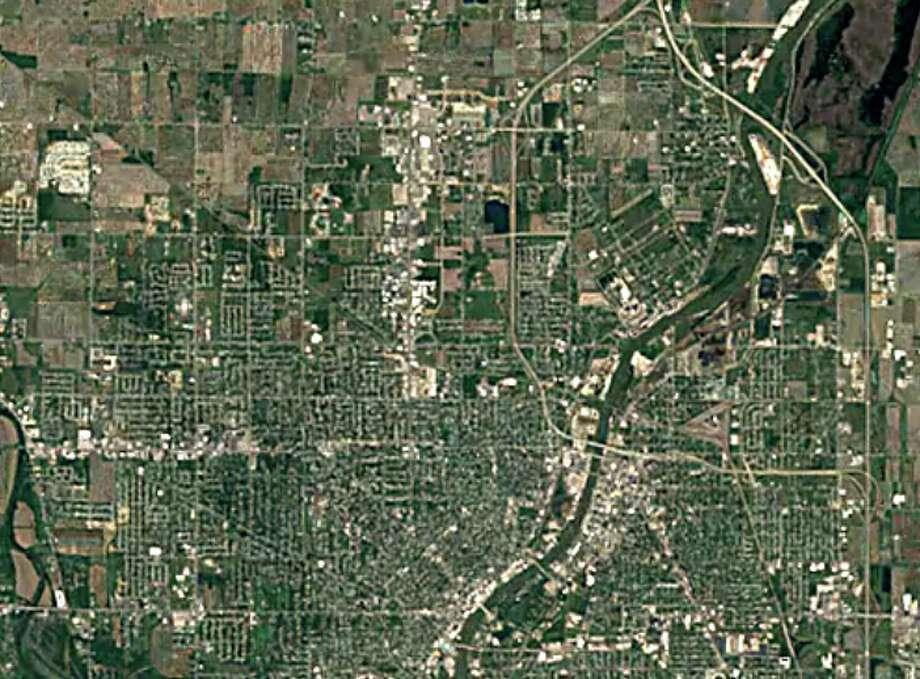 Saginaw 1984 Photo: Photo: Google Earth Timelapse