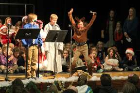 Bad Axe Elementary hosted its annual Christmas program Thursday at Bad Axe High School.