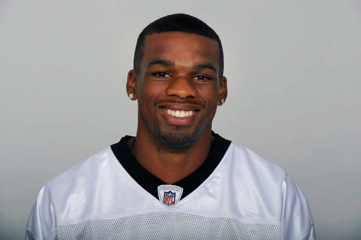 METAIRE, LA - CIRCA 2011: In this handout image provided by the NFL, Tracy Porter of the New Orleans Saints poses for his NFL headshot circa 2011 in Metairie, Louisiana. (Photo by NFL via Getty Images)