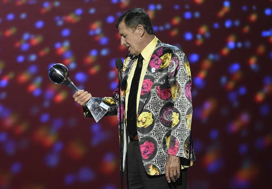 Craig Sager: 1951-2016In this July 13, 2016, file photo, Craig Sager accepts the Jimmy V award for perseverance at the ESPY Awards at Microsoft Theater in Los Angeles. Longtime NBA sideline reporter Craig Sager has died at the age of 65 after a battle with cancer. Turner President David Levy says in a statement Thursday, Dec. 15, 2016, that Sager had died, without saying when or where.Keep going for a look back at Sager's legendary wardrobe during his years on the sideline. Photo: Chris Pizzello, Associated Press