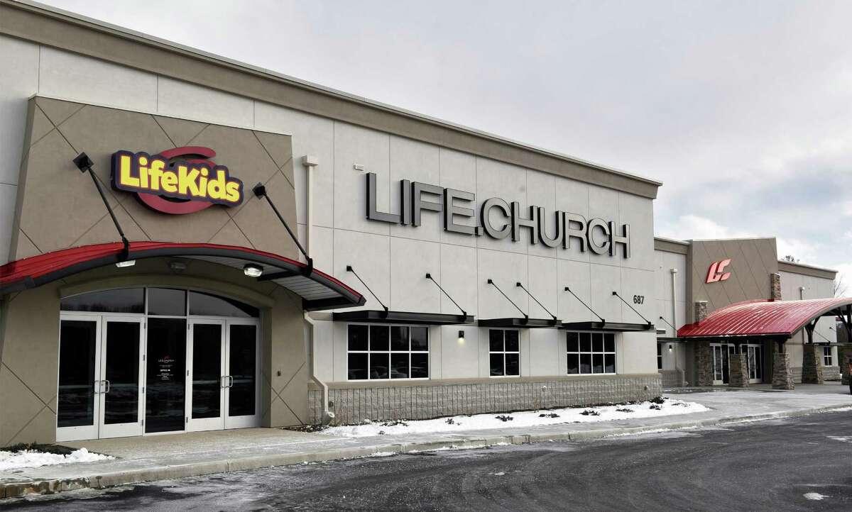 Life.Church's new facility Thursday Dec. 15, 2016 in Colonie, NY. (John Carl D'Annibale / Times Union)