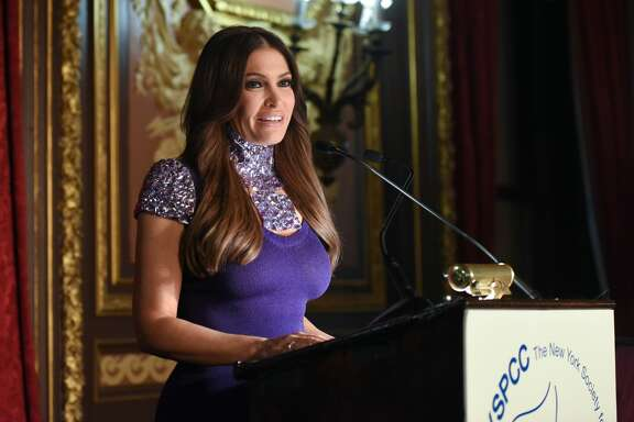 Kimberly Guilfoyle speaks at The New York Society for the Prevention of Cruelty to Children (NYSPCC) - Food & Wine Gala on November 14, 2016 in New York City.