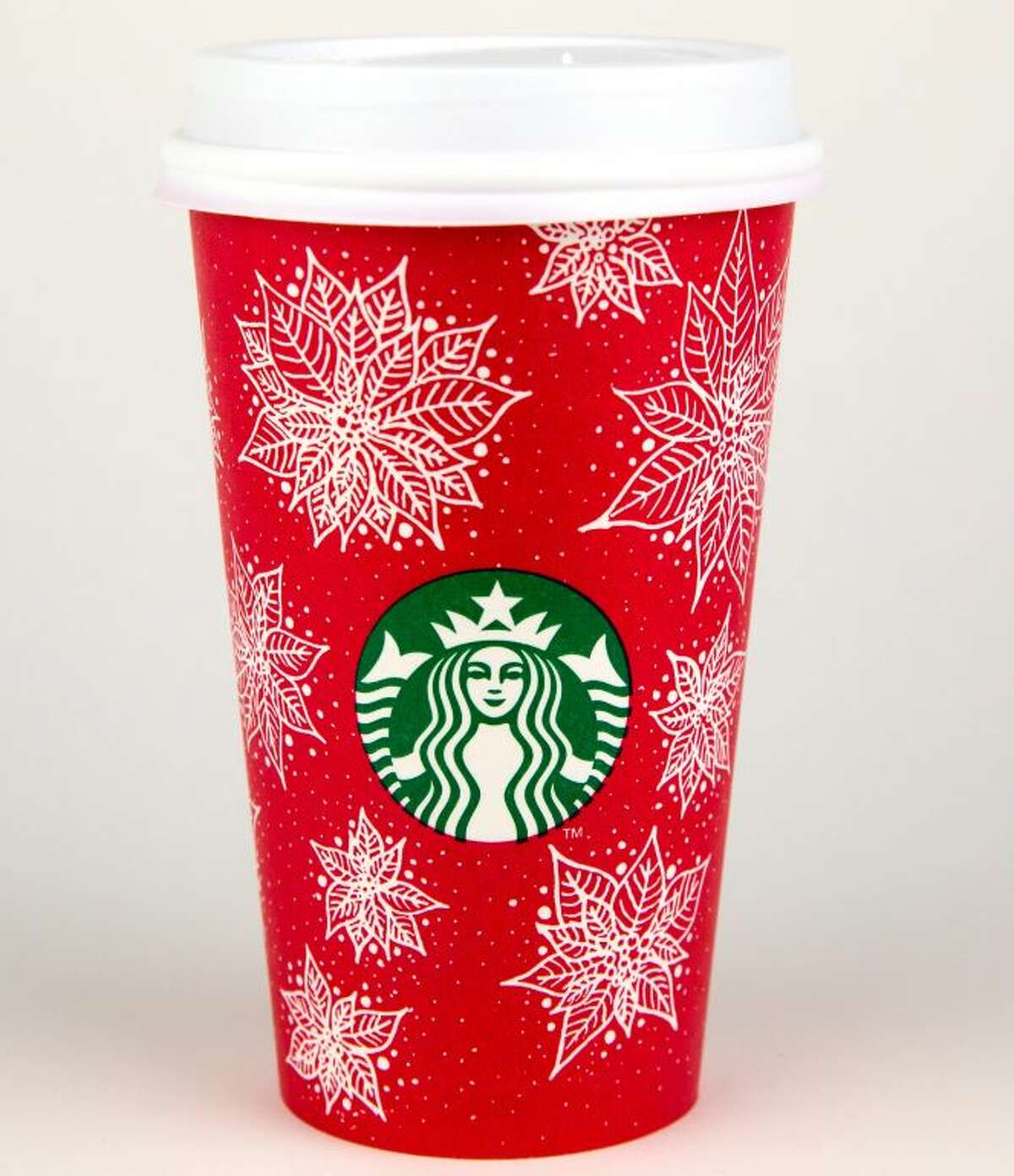 Texas A& University student Christina Anderson's poinsettia-themed cup design was chosen by Starbucks for its coffee shops across Latin America, China and East Asia.