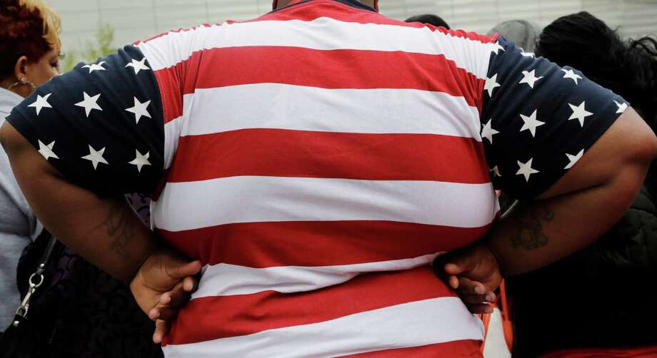 In 2014, while the rest of the 10 largest counties in the U.S. had obesity rates  closer to 20 percent, Harris and Dallas counties were at 30 percent. Photo: Mark Lennihan, STF / A2014