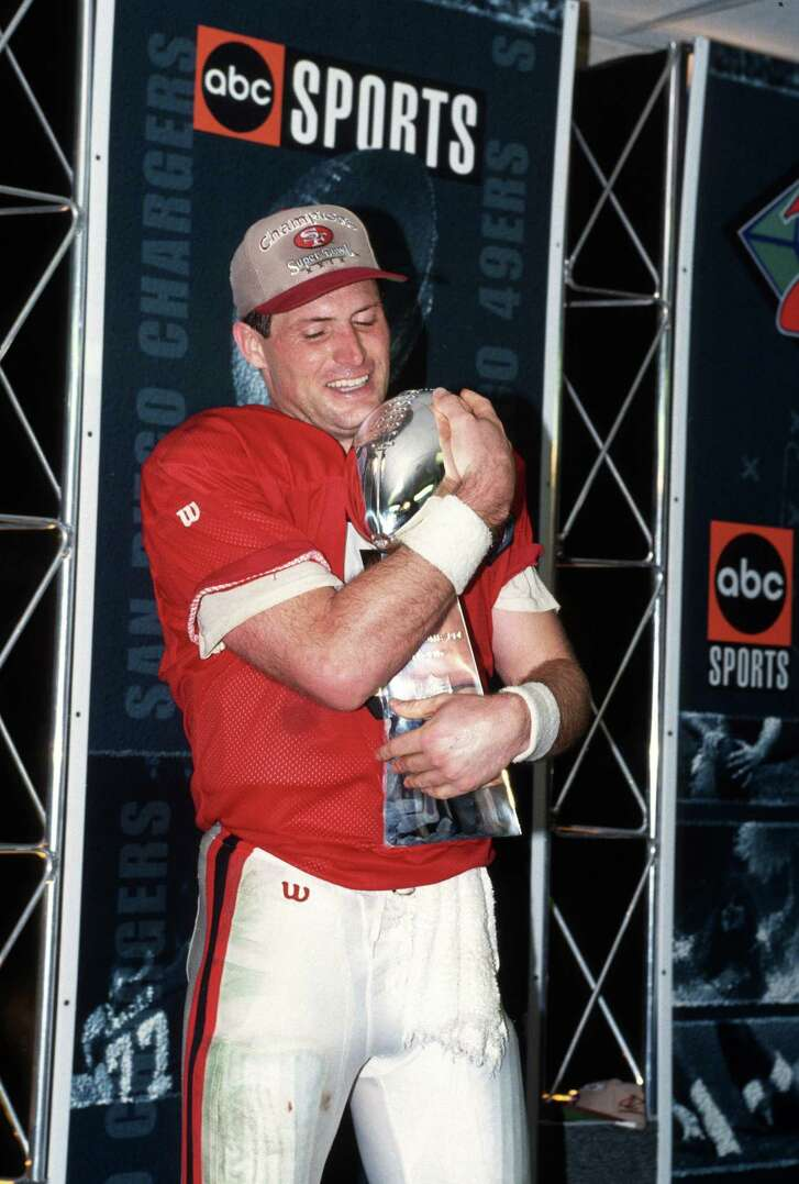 The spotlight finally belonged to Steve Young, who toiled in Joe Montana's shadow in San Francisco. Young did something Montana never did: throw for six touchdowns in a Super Bowl.