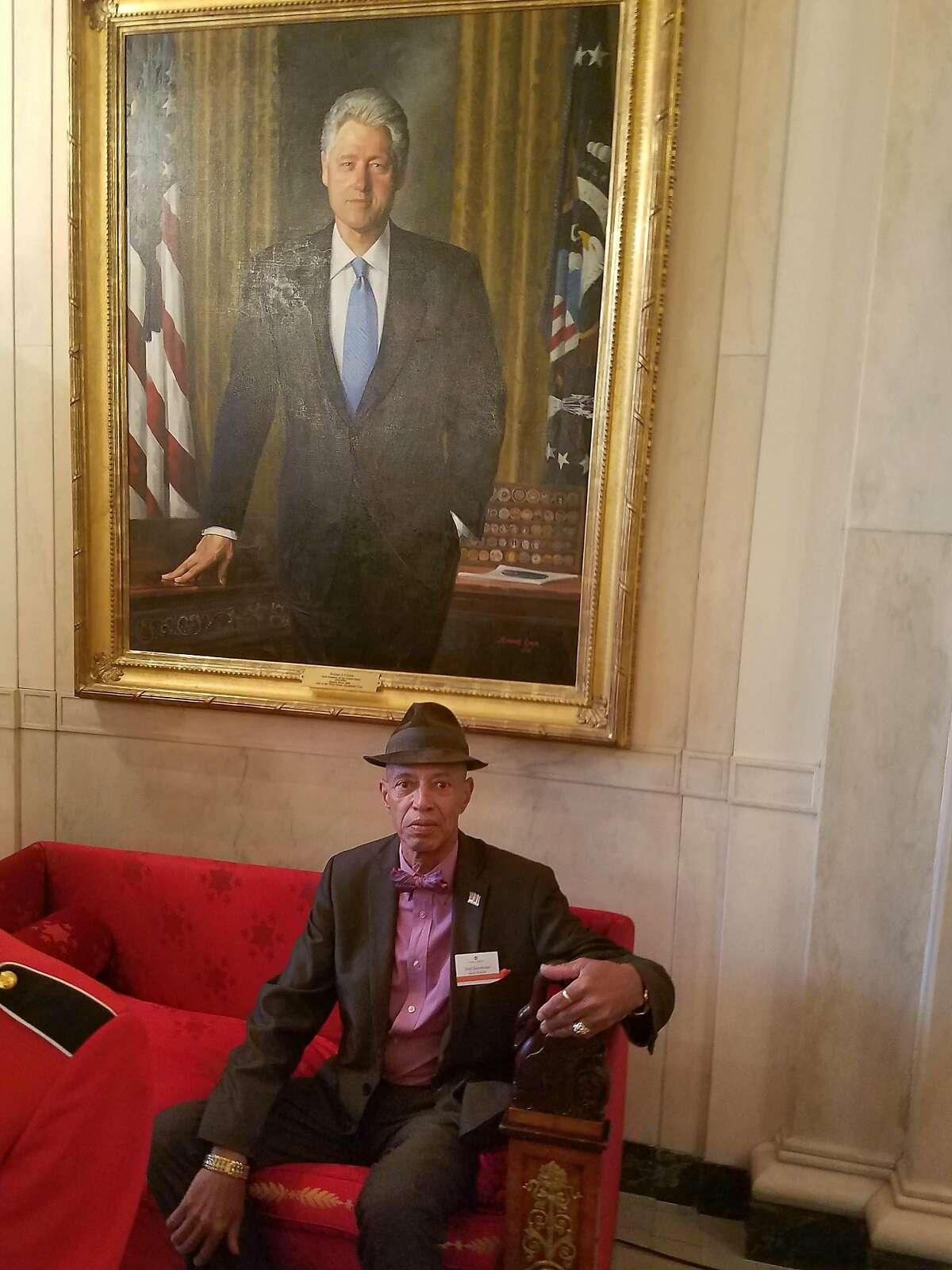 Del Seymour at the White House, November 2016