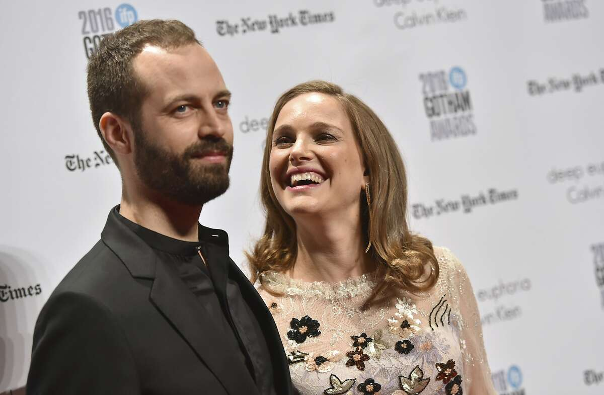 Benjamin Millepied, left, and Natalie Portman attend the 26th annual Gotham Independent Film Awards at Cipriani Wall Street on Monday, Nov. 28, 2016, in New York. (Photo by Evan Agostini/Invision/AP)