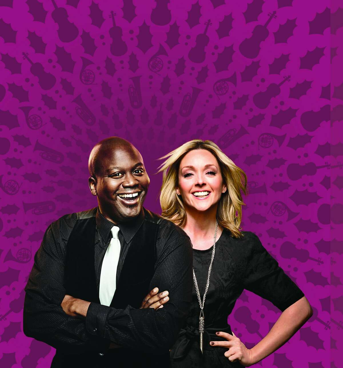 Tituss Burgess and his ��Unbreakable�Kimmy Schmidt� costar Jane Krakowski�will be appearing with the San Francisco Symphony for the first time together in concert on New Year�s Eve, Dec. 31, 2016