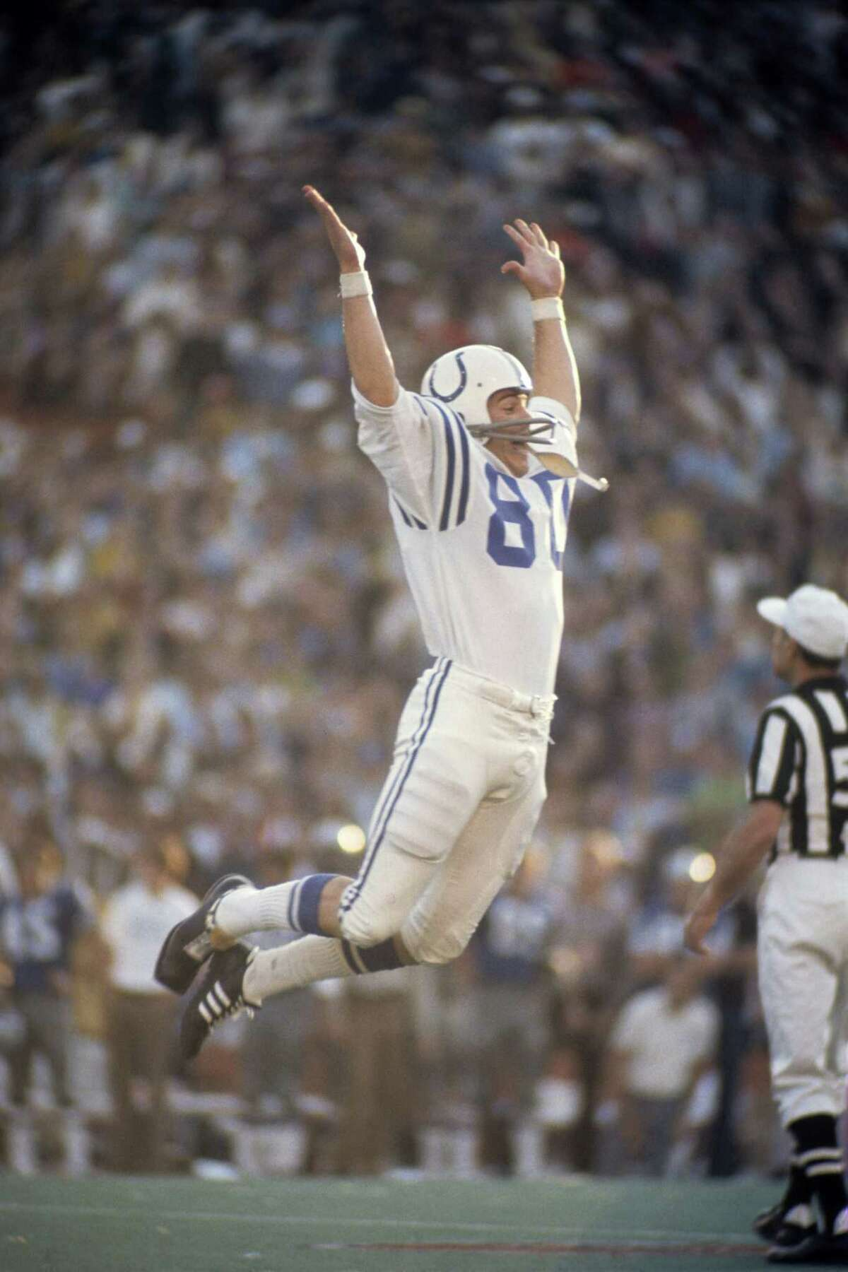 Jim O'Brien's late field goal floored the Cowboys and sent the Colts soaring.