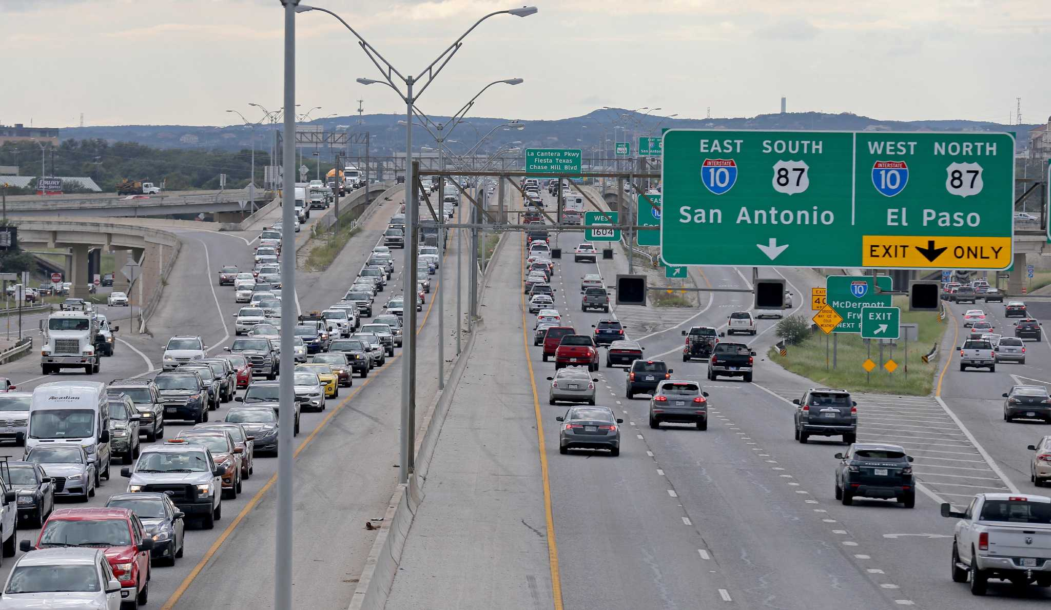 Proposed Toll Lanes Could Relieve Gridlock On Loop 1604