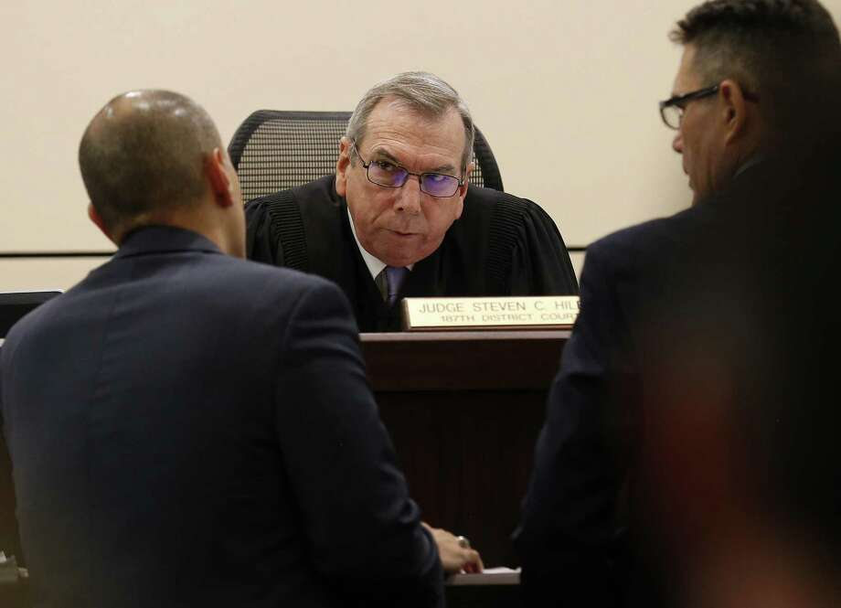 Judge Steven C. Hilbig stepped down recently as judge from the state 187th District Court bench in San Antonio. Photo: Photos By Kin Man Hui / San Antonio Express-News / ©2016 San Antonio Express-News