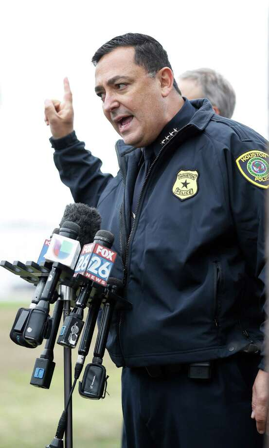 New Houston Police Chief Art Acevedo said he could lose 400 to 600 officers by next summer. Photo: Karen Warren, Staff Photographer / 2016 Houston Chronicle