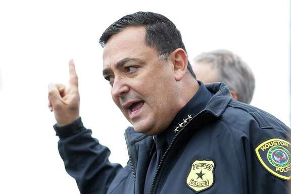 New Houston Police chief Art Acevedo, now on the job for two weeks,  said the department's body cameras should start recording automatically when police officers exit their vehicles.