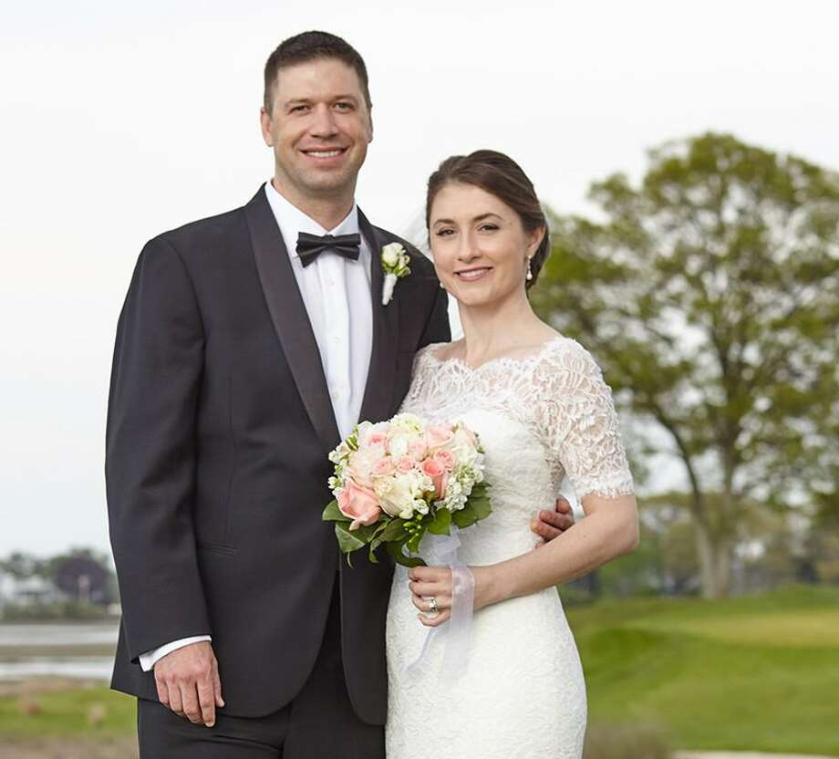 Jenna Leigh and Ryan Burton Podskoch were married on May 14. Photo: Contributed Photo