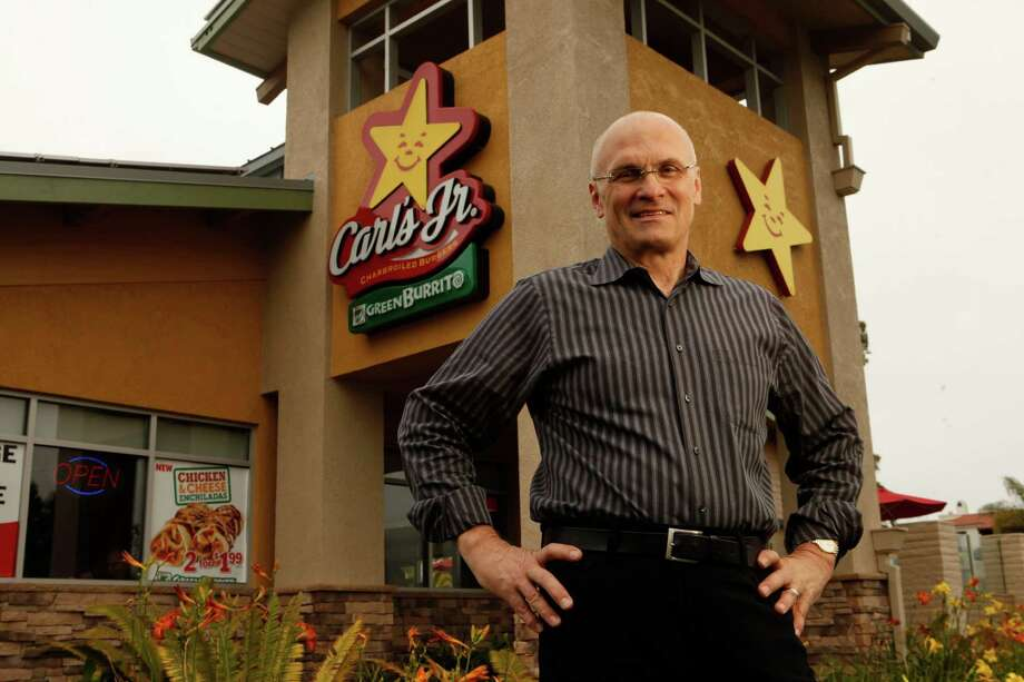 Andrew Puzder, chief executive of CKE Restaurants, in a June 2011 file image. (Al Seib/Los Angeles Times/TNS) Photo: Al Seib, FILE / Los Angeles Times