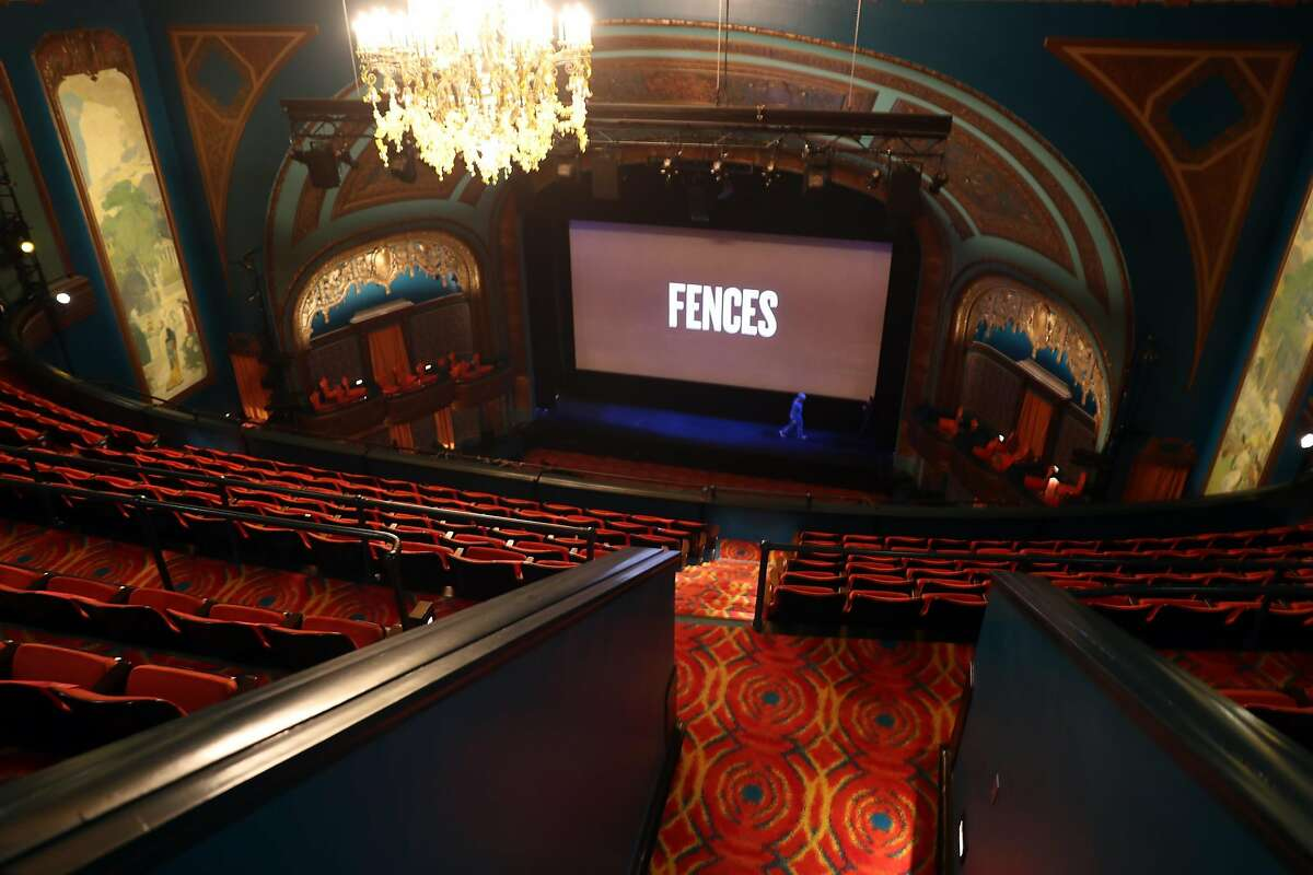 Curran Theatre in San Francisco, Calif., on Thursday, December 15, 2016.