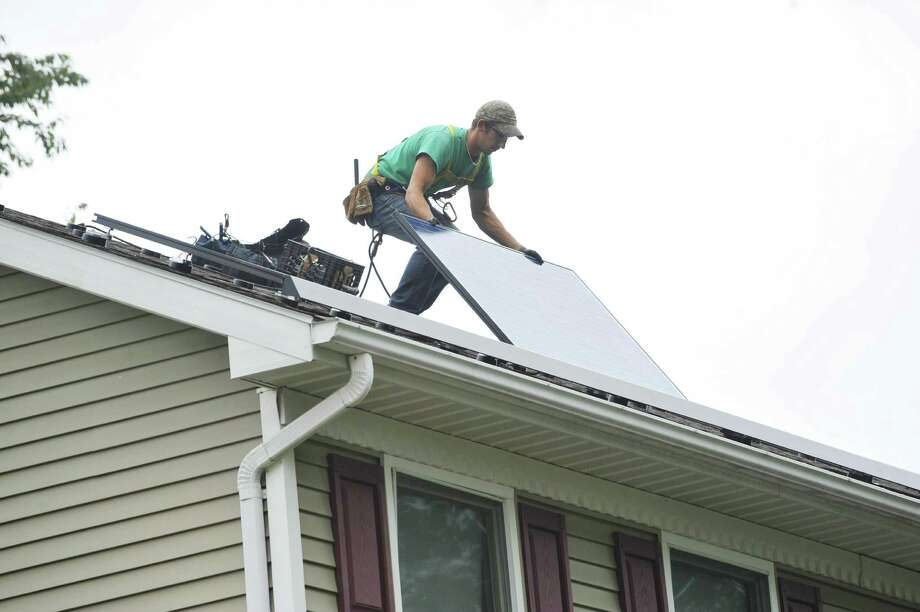 Crius Energy won approval from the state of Connecticut to install photovoltaic systems in its home state, with the company having its headquarters in Norwalk. (Paul Buckowski / Times Union) Photo: Paul Buckowski / / 00028865A