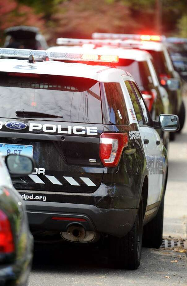 FILE — Stamford police cruisers in Stamford, Conn. on Monday, Oct. 17, 2016. Photo: Michael Cummo / Hearst Connecticut Media / Stamford Advocate