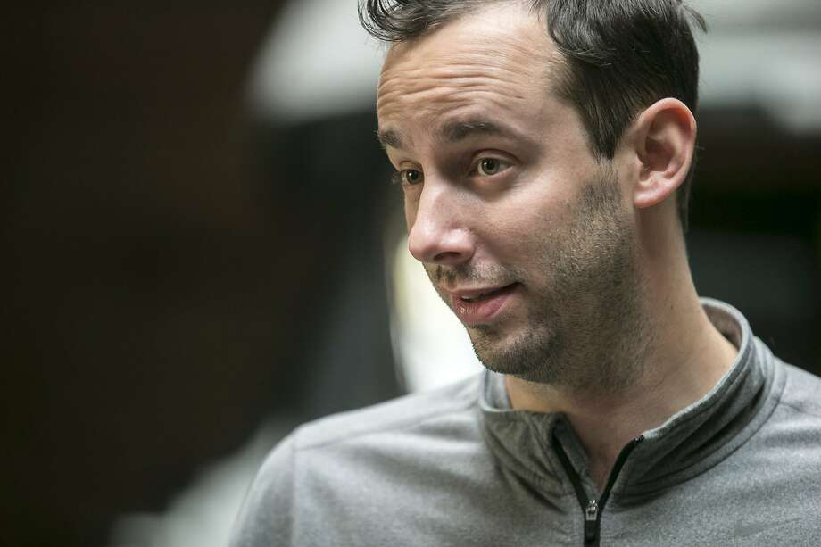 Anthony Levandowski, who is the head of Uber�s Advanced Technology Group and the co-founder of Otto, is seen during an Uber news conference on Tuesday, Dec. 13, 2016 in San Francisco, Calif. Photo: Santiago Mejia / The Chronicle