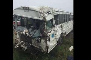 Prisoner Bus Rollover in Willacy County.