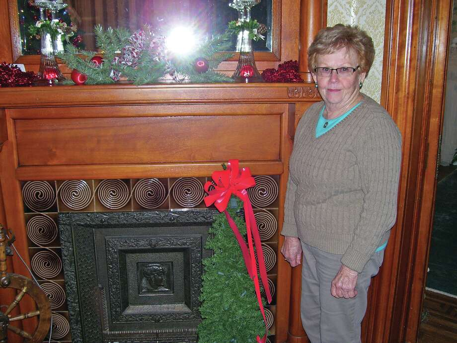 One of Betty Guenther's favorite volunteer posts is with the Sebewaing Area Historical Society.