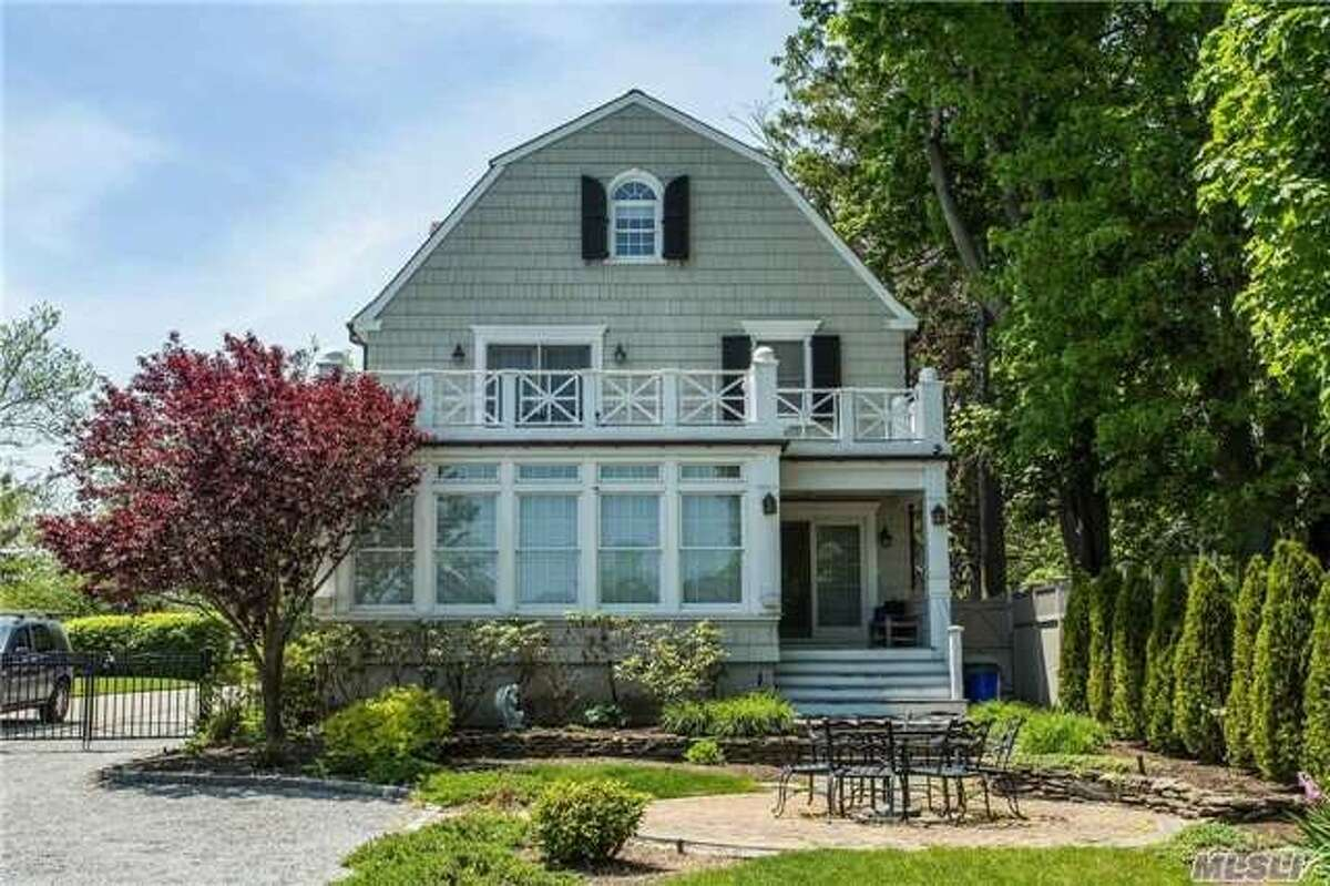 No. 10: 108 Ocean Ave, Amityville, New York Yes, it is that Amityville. The home is supposedly haunted by the spirits of murder victims and something more sinister. It has been the subject of many films and TV shows. Last asking price, $850,000.
