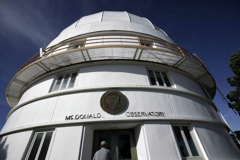 This photo shows one of the McDonald Observatory telescopes. Astronomers come from around the world to conduct research under some of the darkest night skies in the continental U.S. Photo: LM Otero /AP / AP