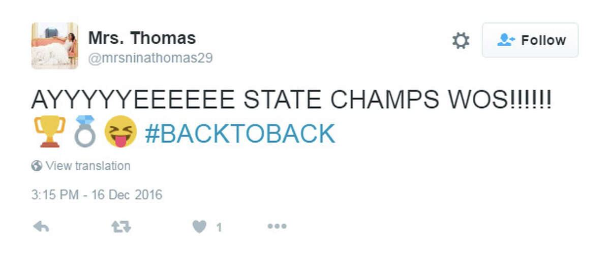 West Orange-Stark fans share their emotions on Twitter throughout the 2016 state championship game against Sweetwater.