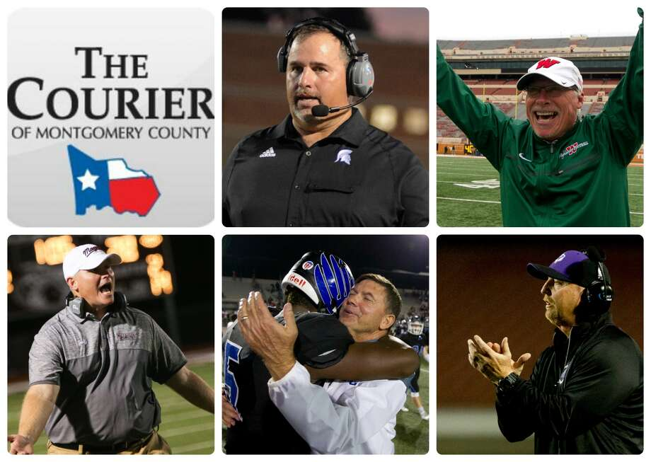 Porter's Jim Holley, The Woodlands' Mark Schmid, Magnolia's Sterling Doty, New Caney's Brady Pennington and Willis' Audie Jackson are The Courier's nominees for Coach of the Year.